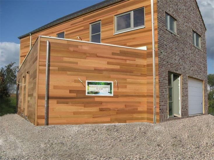 Construction ossature bois dans le brabant wallon lasne for Cout annexe construction maison