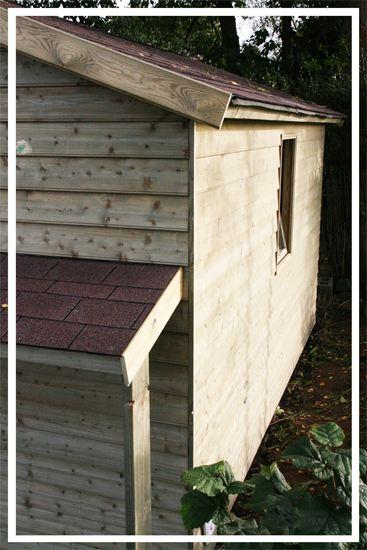 Construction cabane en bois lasne belgique cabanon for Cabanes de jardin belgique